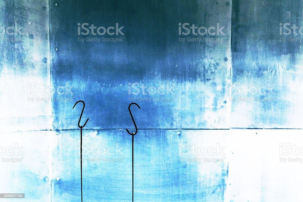 hanging of hook stock photo