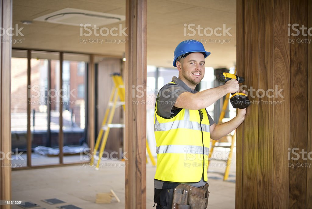 hanging office doors royalty-free stock photo