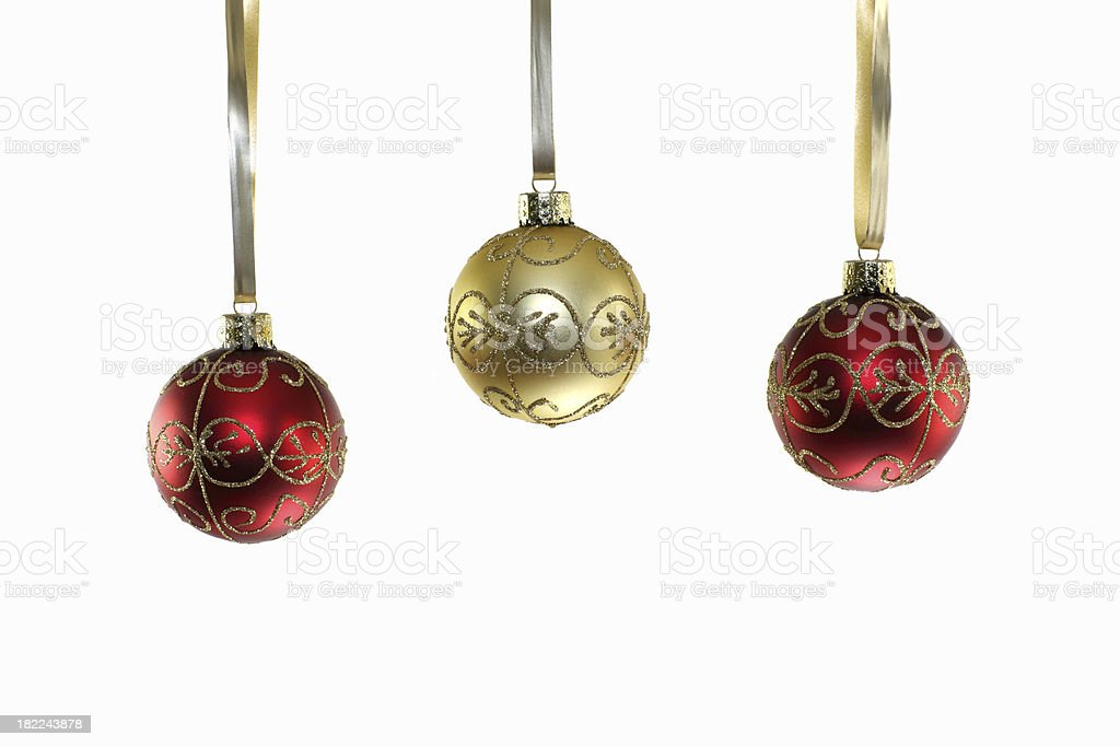 Hanging Ornaments stock photo