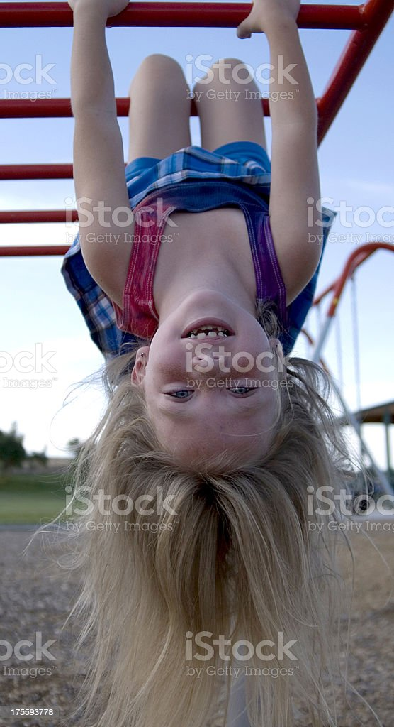 Hanging out royalty-free stock photo
