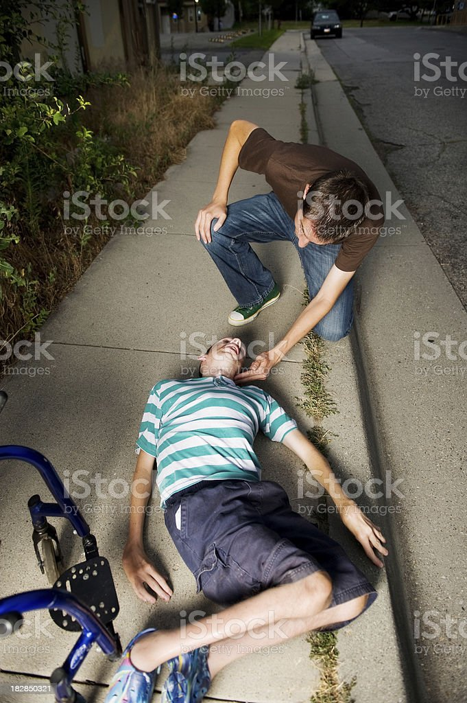 Hanging Out stock photo