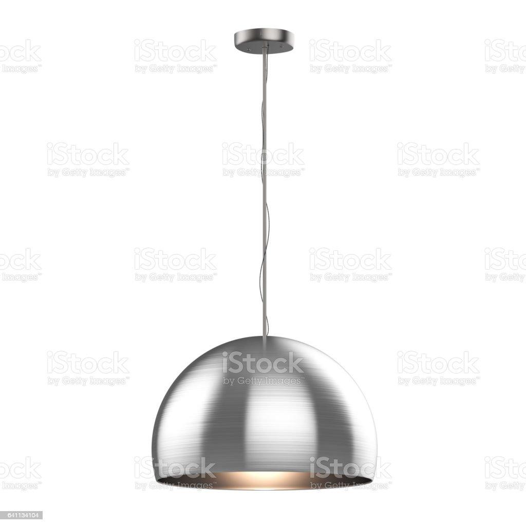 hanging pendant lamp stock photo