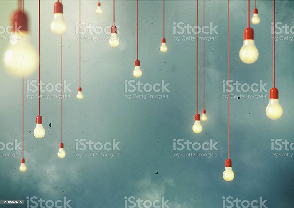 Hanging stock photo