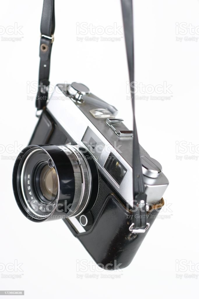 Hanging Rangefinder stock photo