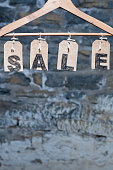 Hanging SALE tags