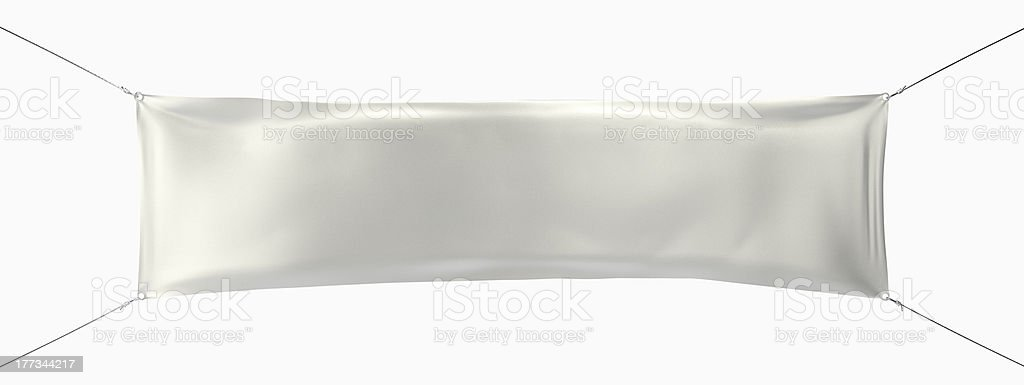 Hanging Street Banner stock photo