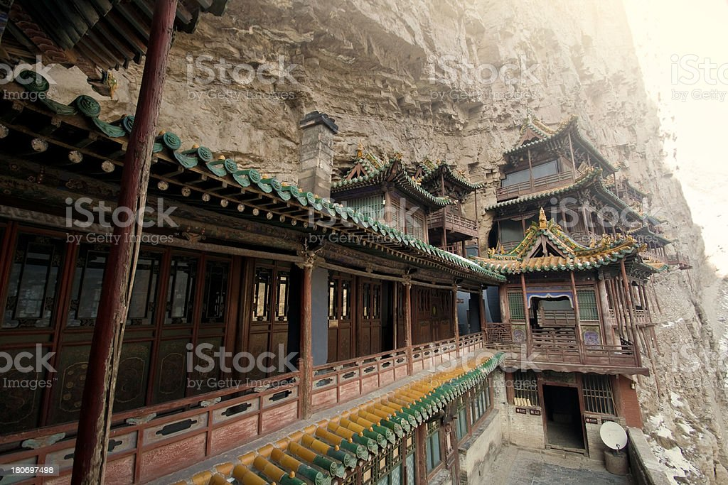 Hanging Temple royalty-free stock photo