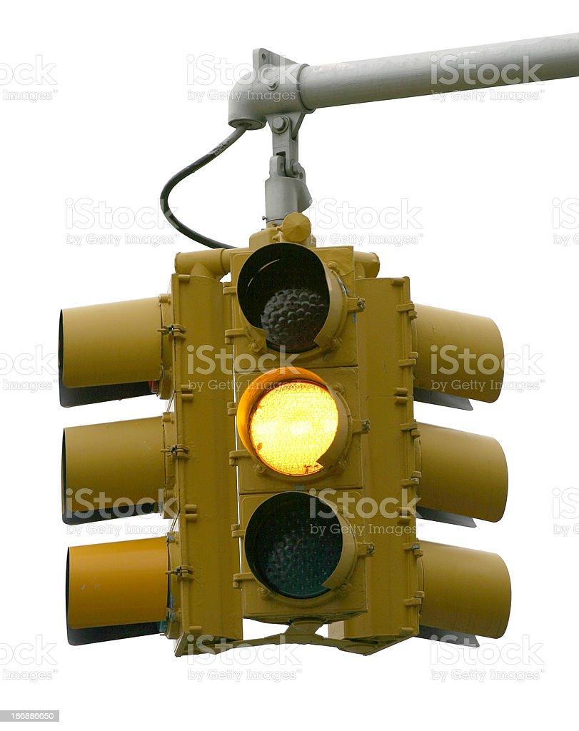 Hanging traffic lights royalty-free stock photo