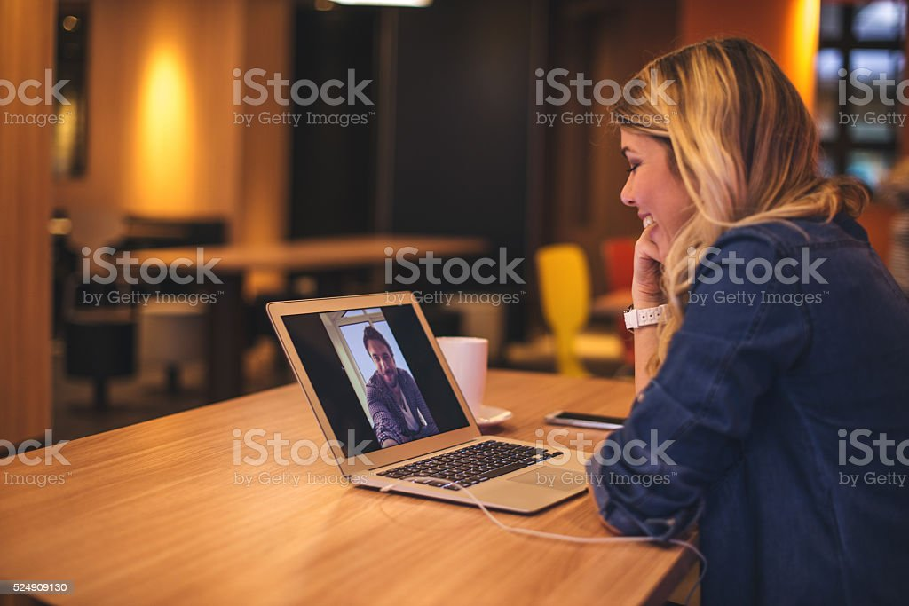 Hanging with a boyfriend stock photo
