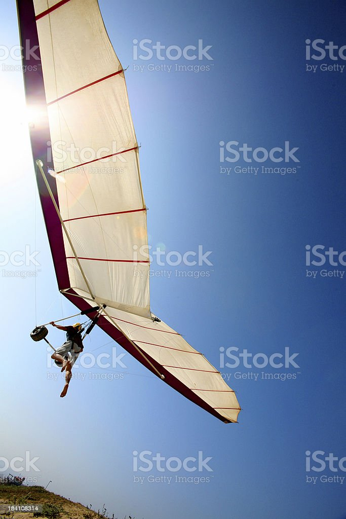 Hanglider : Modern Icarus royalty-free stock photo