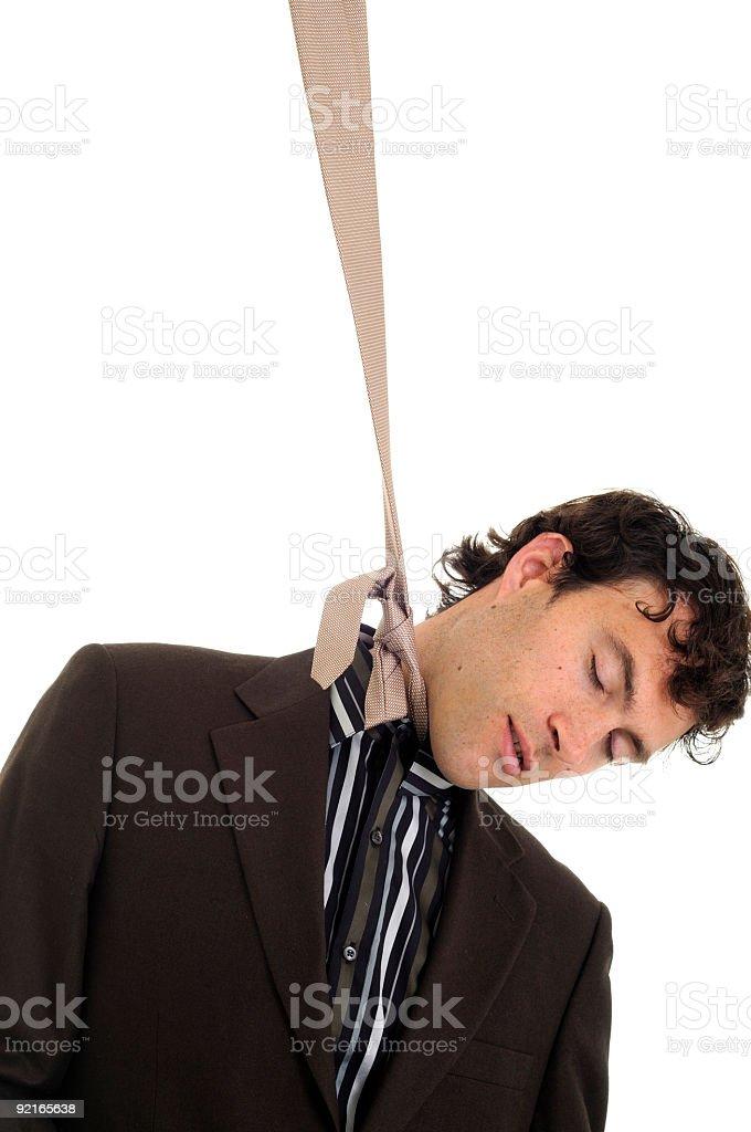 Hangman royalty-free stock photo