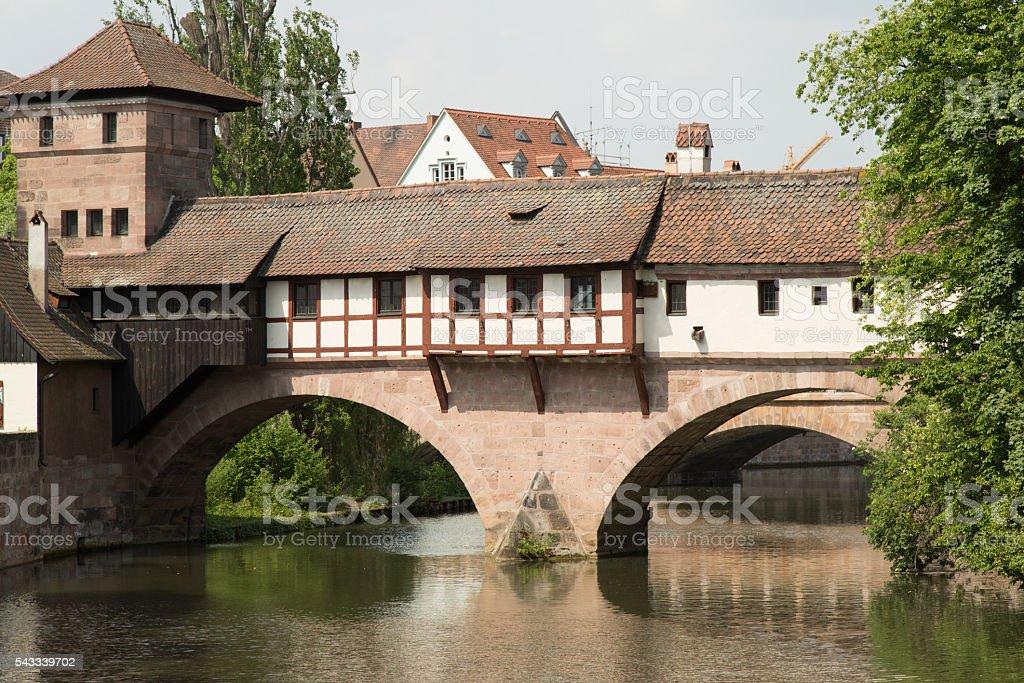 Hangman's Bridge stock photo