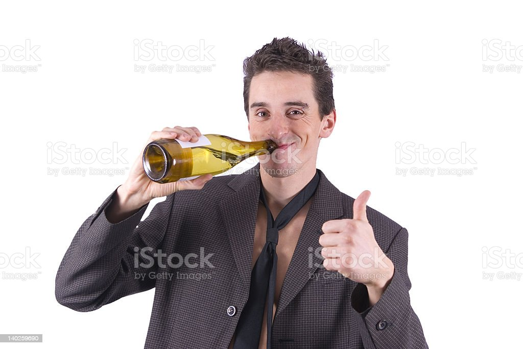 Hangover - end of after party royalty-free stock photo