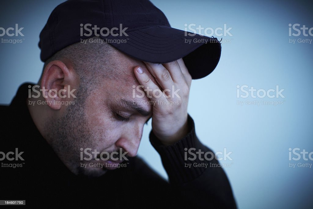 Hangover royalty-free stock photo