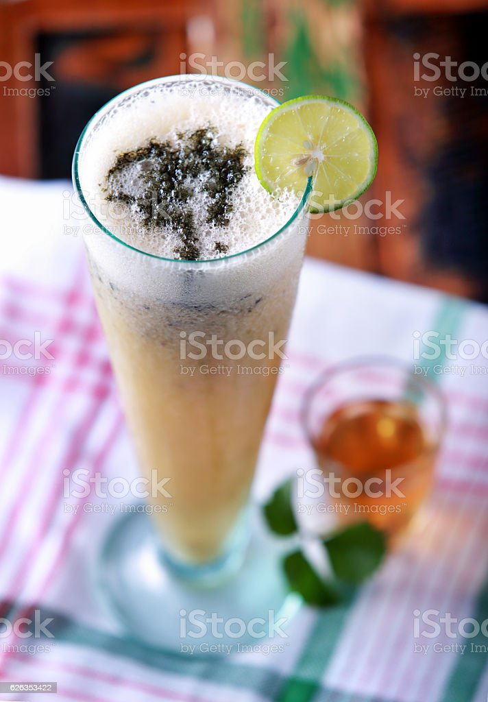 hangover saver juice stock photo