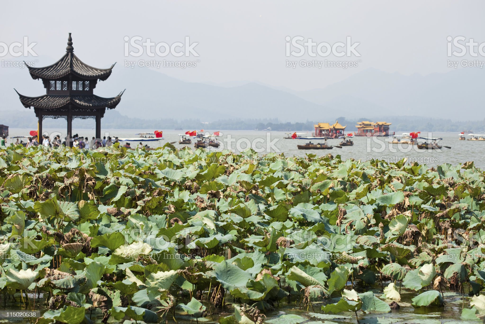 Hangzhou, China royalty-free stock photo