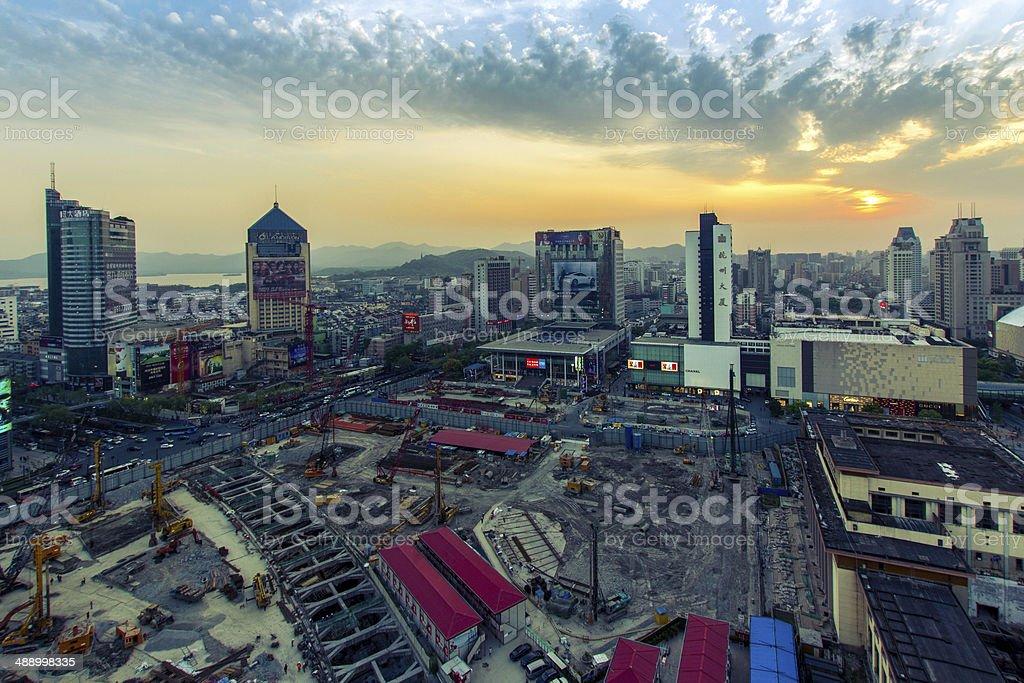 Hangzhou Landscape stock photo
