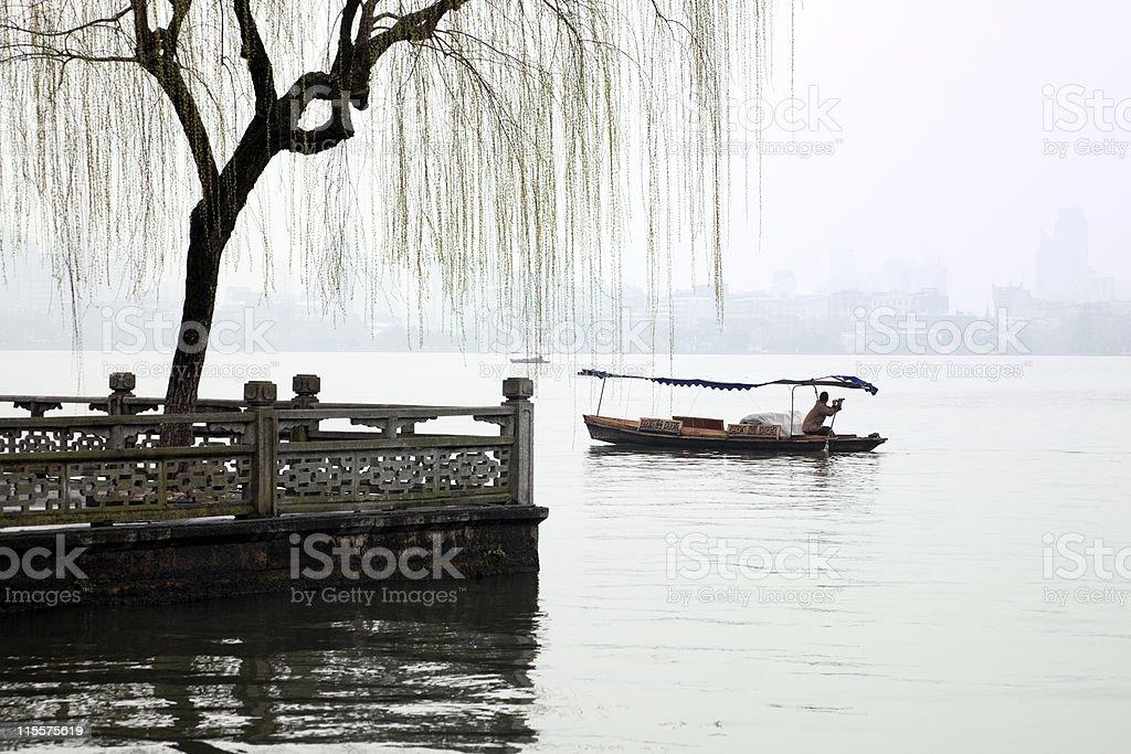 Hangzhou West Lake royalty-free stock photo