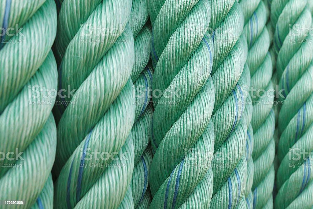 hank of rope royalty-free stock photo