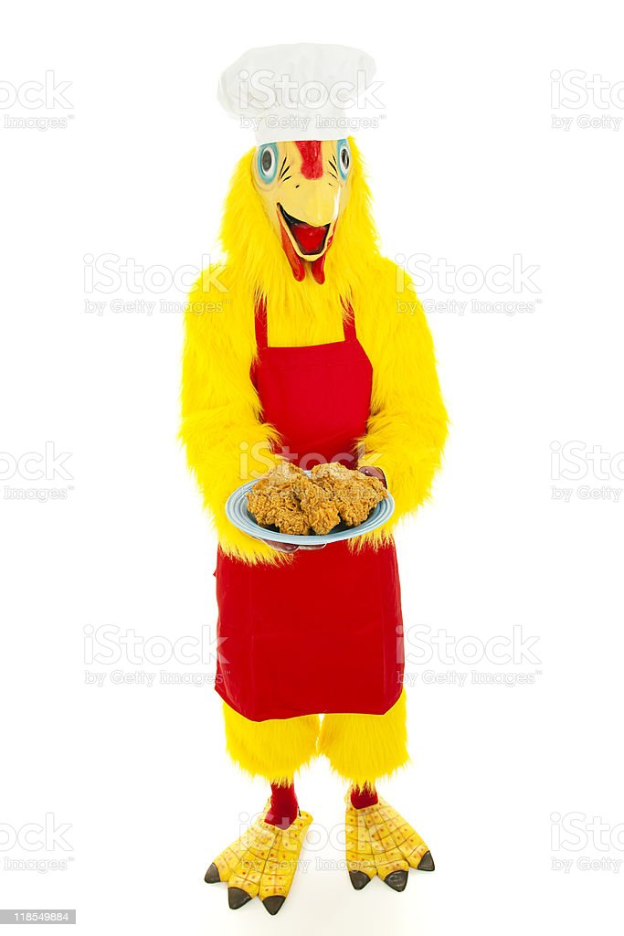 Hannibal the Chicken stock photo