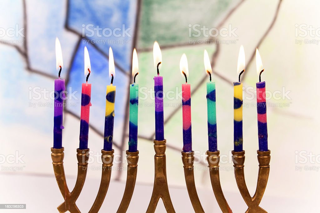 Hannukah Series royalty-free stock photo