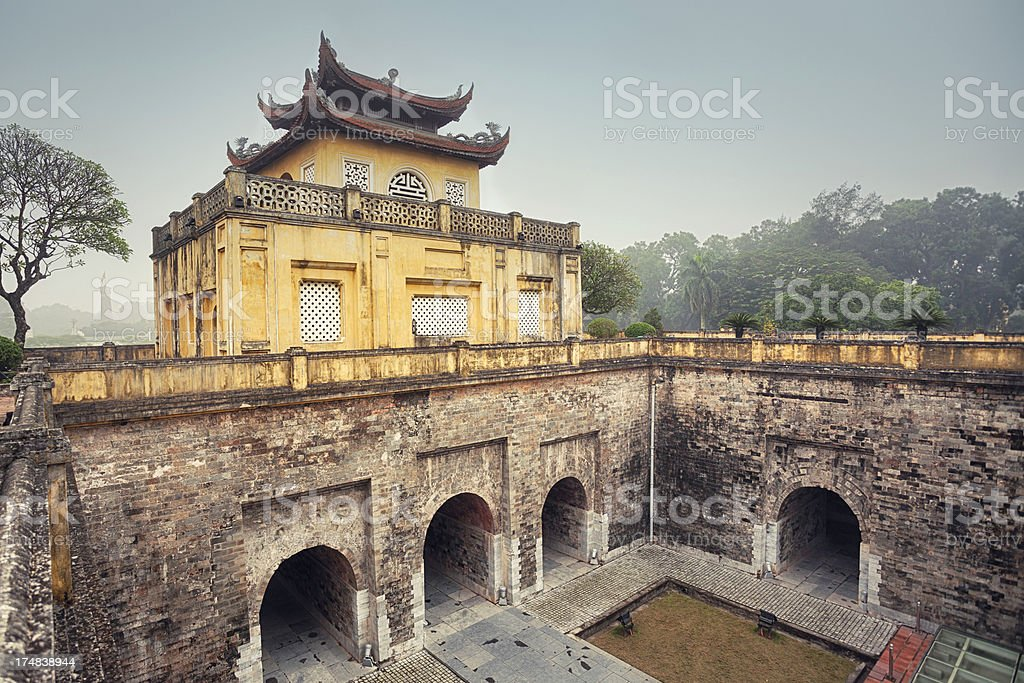 Hanoi Citadel stock photo