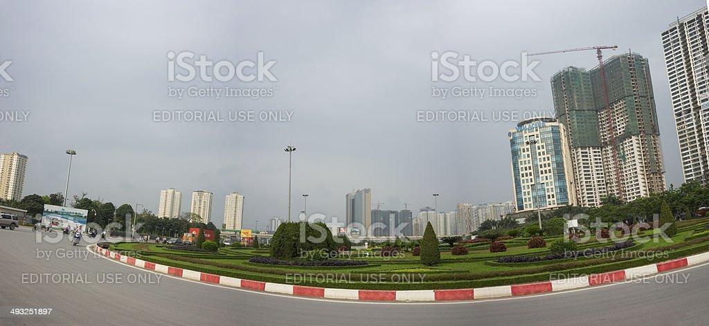 Hanoi skycraper stock photo