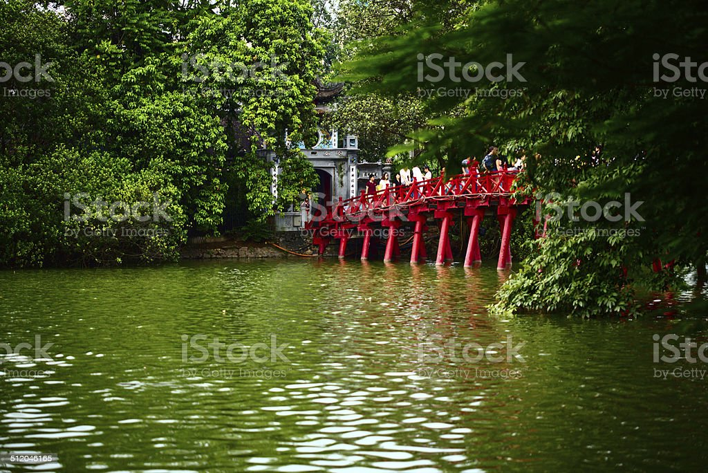 Hanoi_Redbridge stock photo