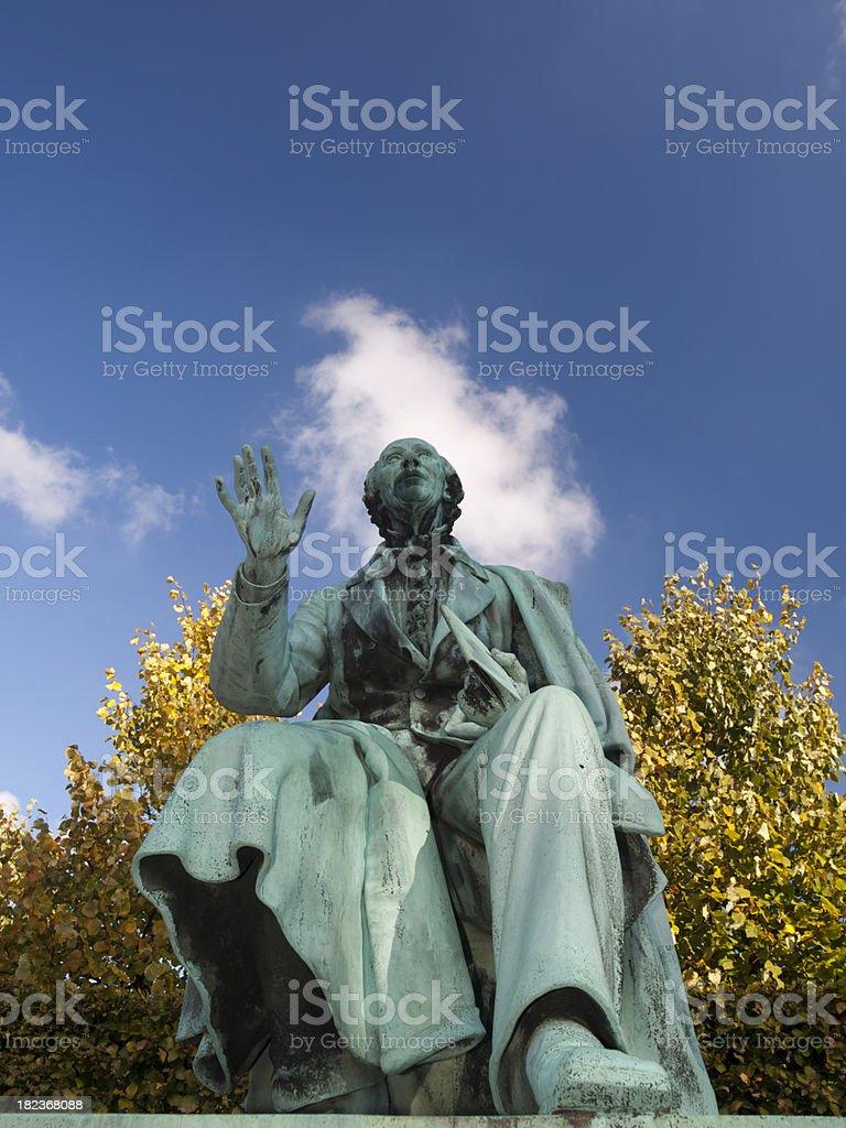 Hans Chrisitian Andersen royalty-free stock photo