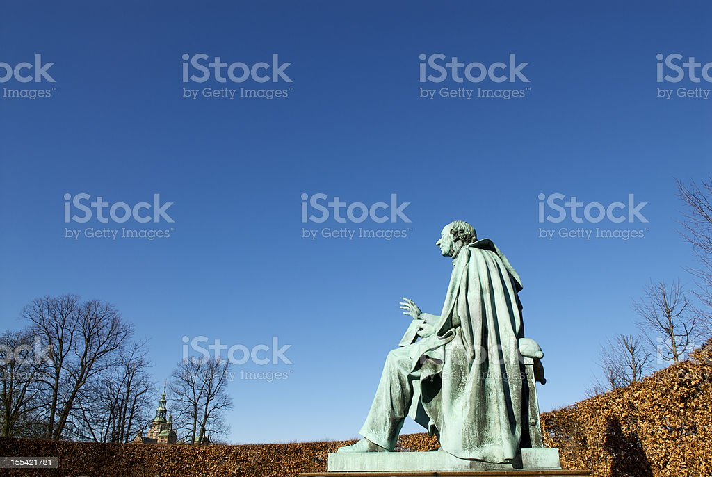 Hans Christian Andersen royalty-free stock photo