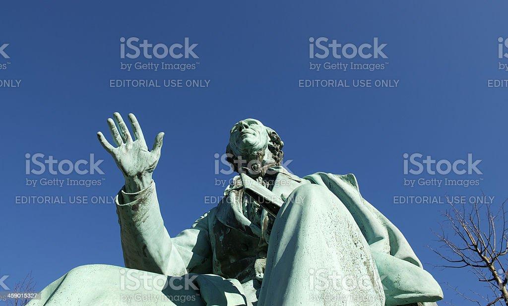 Hans Christian Andersen stock photo