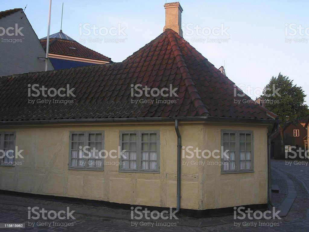 Hans Christian Andersens House stock photo