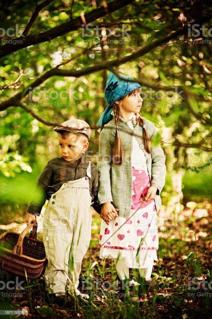 Hansel and Gretel stock photo