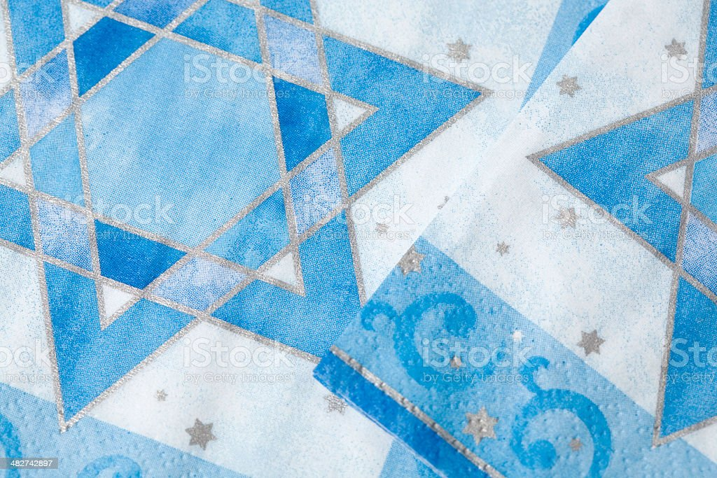 Hanukkah background stock photo