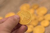 Hanukkah Gelt Chocolate Coins