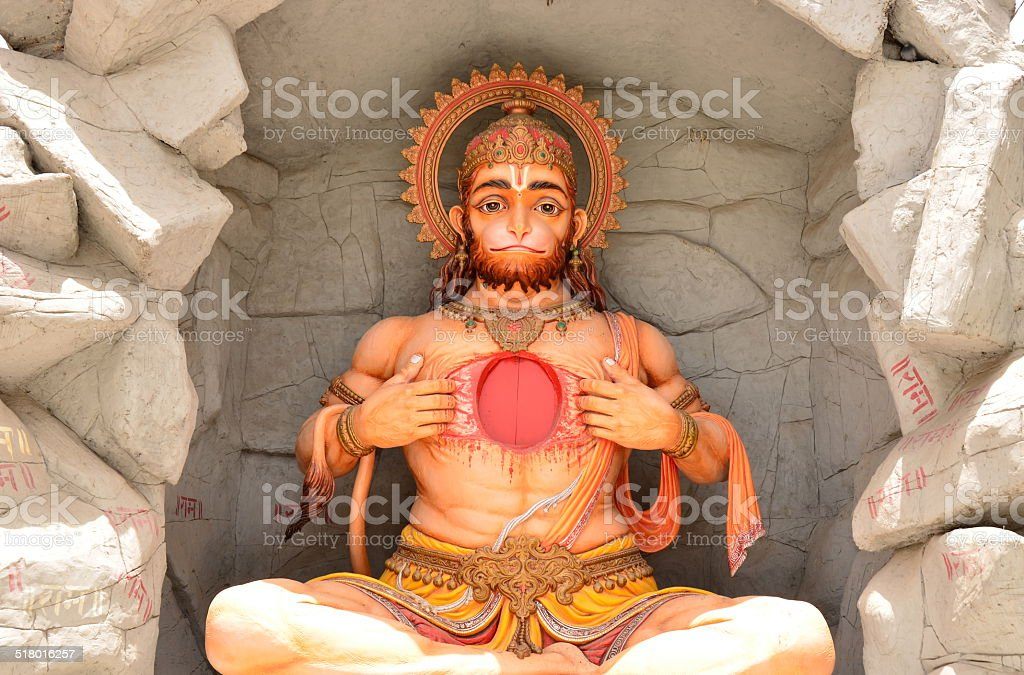 Hanuman of India stock photo