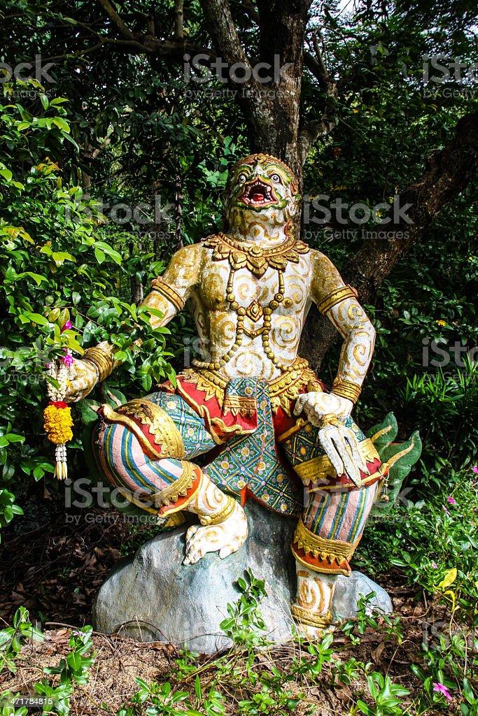 Hanuman royalty-free stock photo