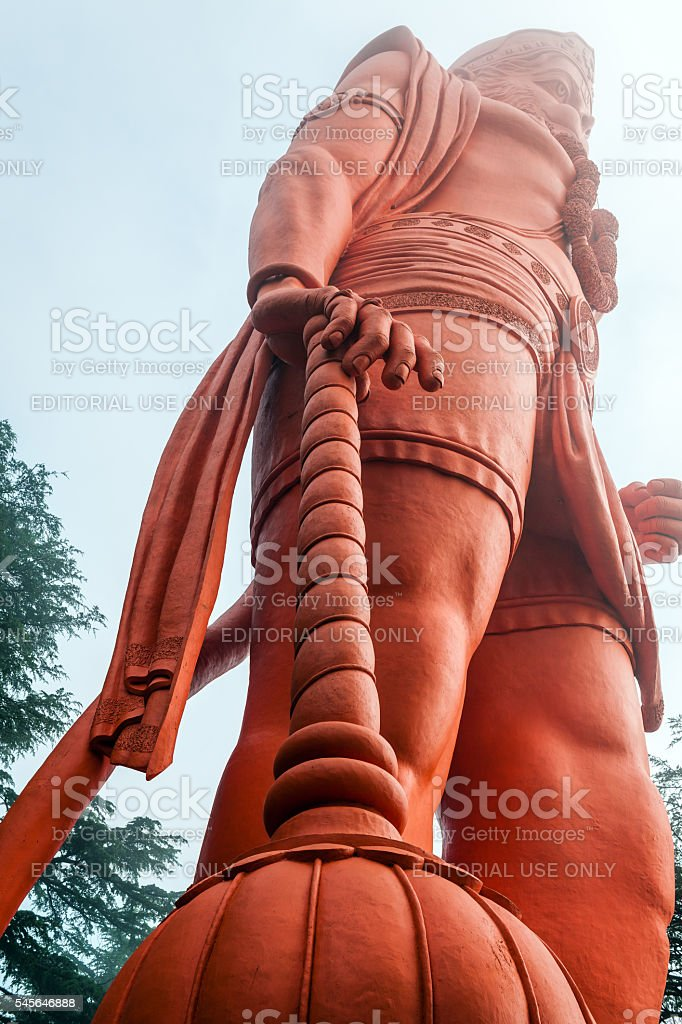 Hanuman,Shimla,Himachal Pradesh India . stock photo