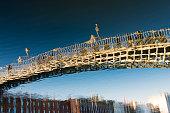Ha'penny Bridge Dublin, Ireland.