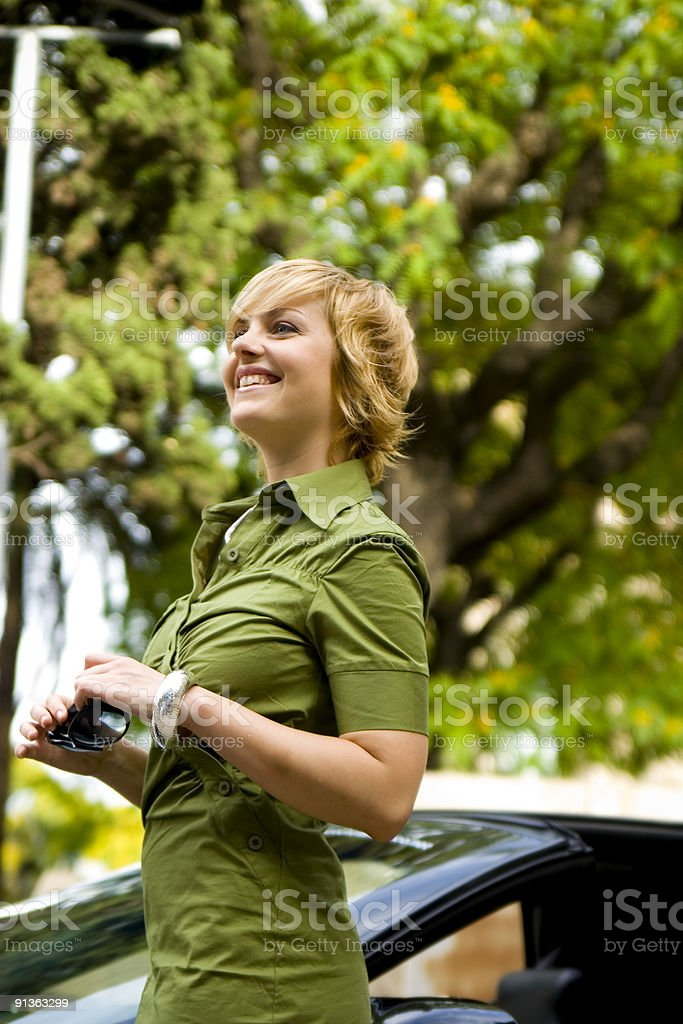 Hapiness royalty-free stock photo