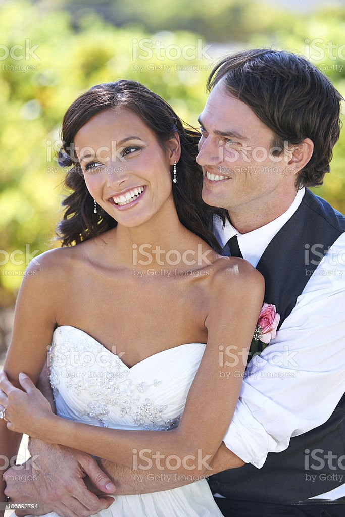 Happily ever after... royalty-free stock photo