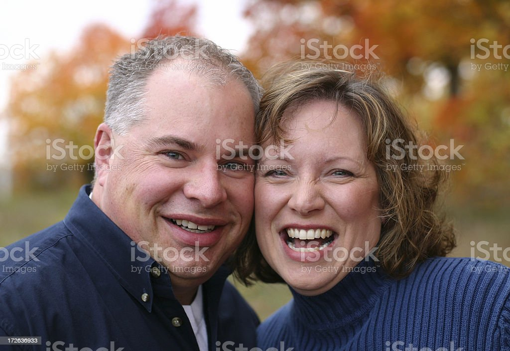 Happily in Love royalty-free stock photo
