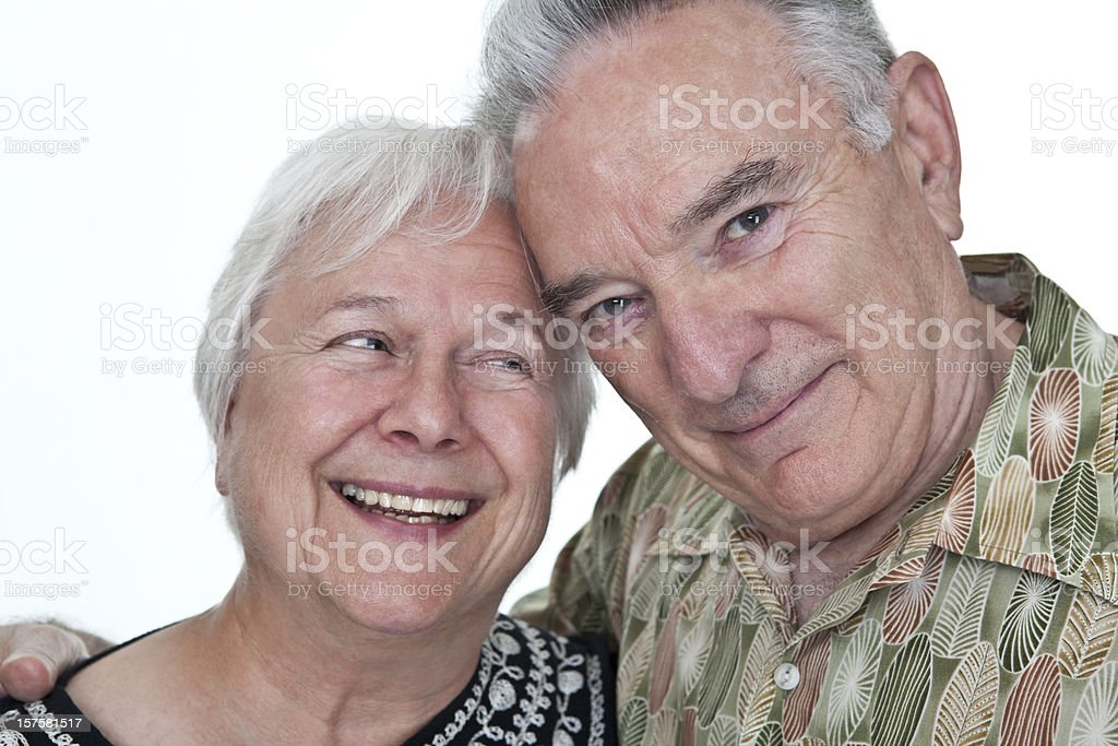 Happily Married royalty-free stock photo