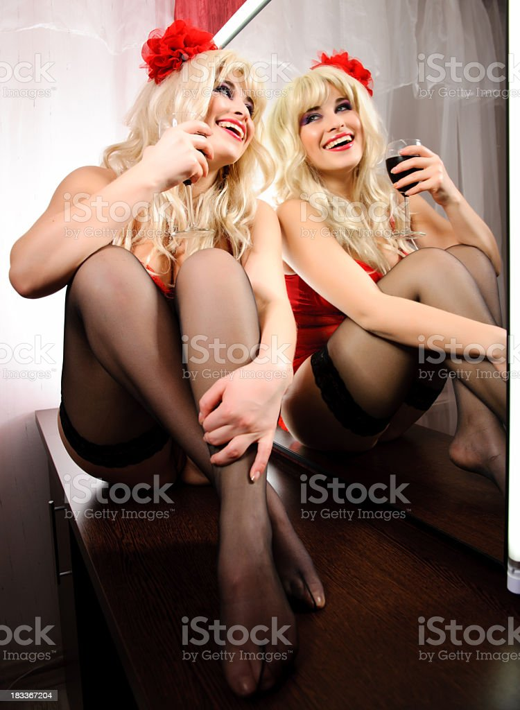 happines for valentine royalty-free stock photo