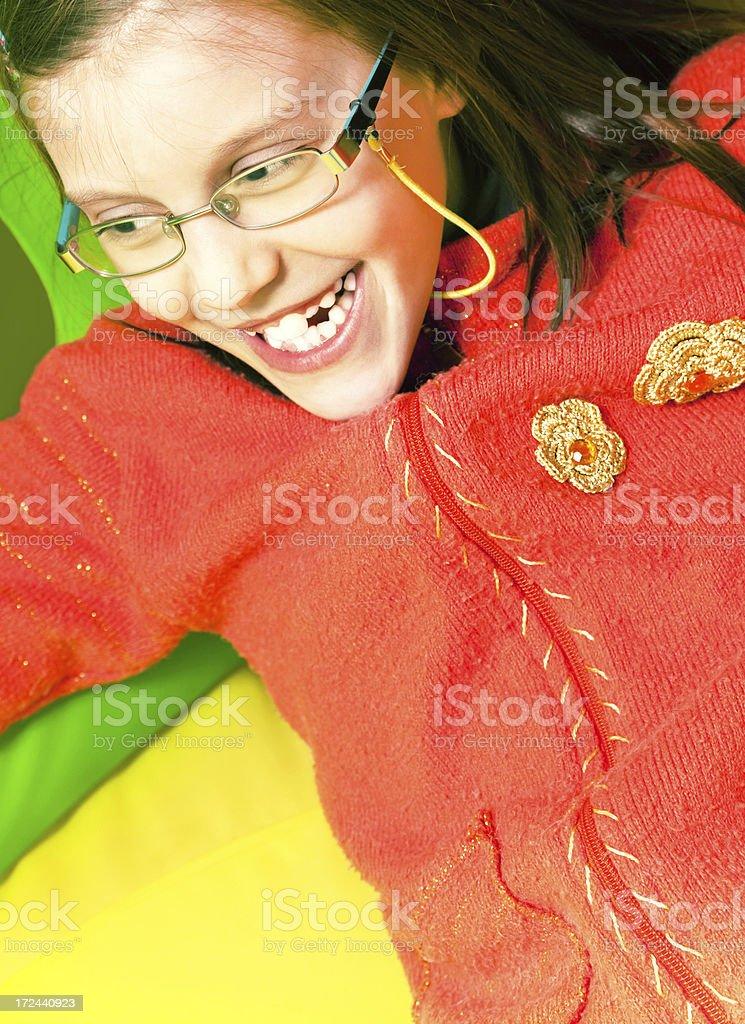 Happines royalty-free stock photo