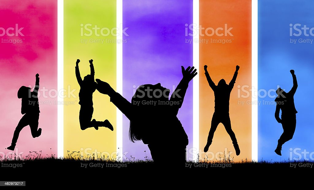 Happines royalty-free stock photo