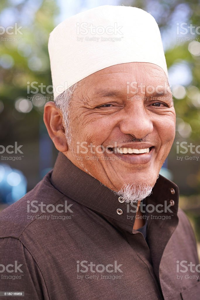 Happiness and heritage stock photo