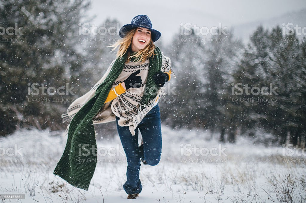 Happiness consists of small things stock photo