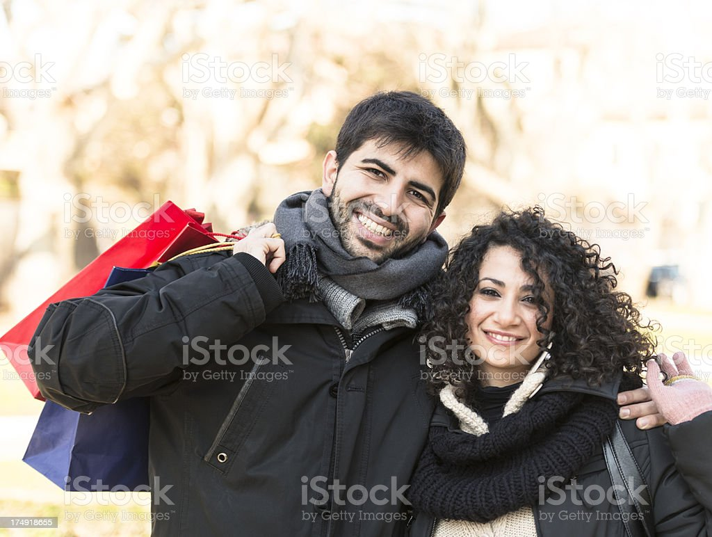 happiness couple smiling royalty-free stock photo