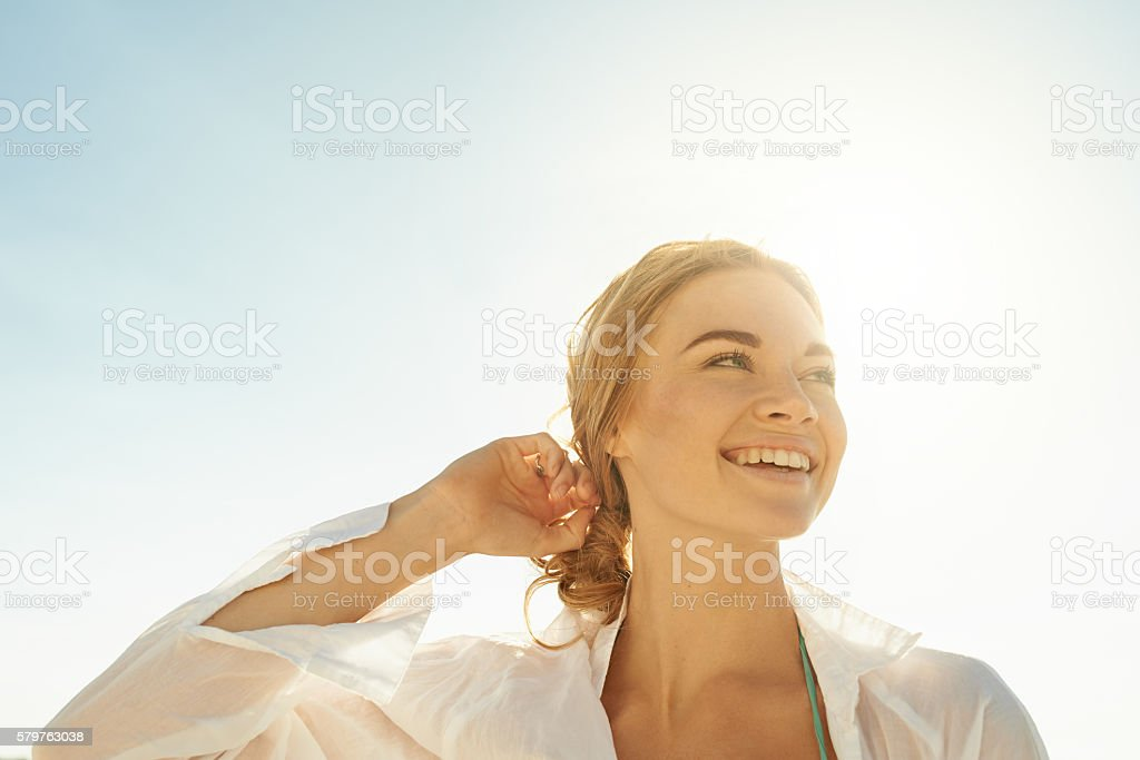 Happiness has taken over my brain stock photo